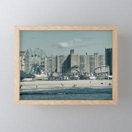 Luna Retro Framed Mini Art Print