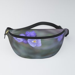 Opening Up (Blue Dicks Wildflowers) Fanny Pack