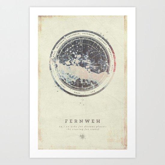 Fernweh Vol 6 Art Print