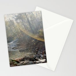 First Light Beams Stationery Cards