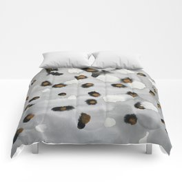 Seal Spot Reflections Comforters