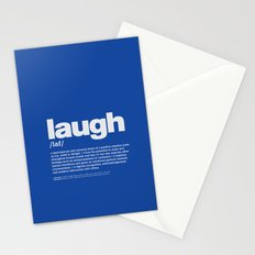 definition LLL - Laugh 6 Stationery Cards