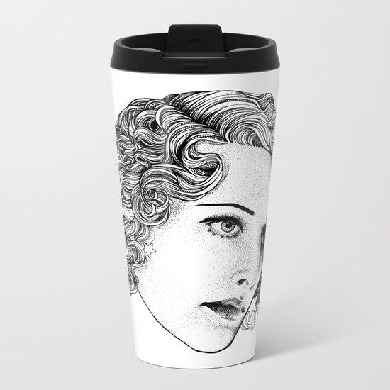Star Girl Metal Travel Mug