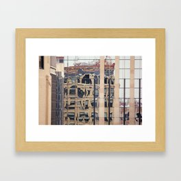 Mirrored Framed Art Print