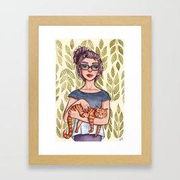 Familiar Framed Art Print