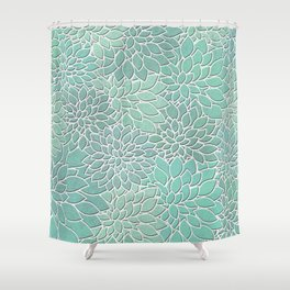 Floral Abstract 28 Shower Curtain