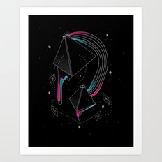 In Deep Space Art Print