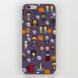 halloween horror special blanket iPhone Skin