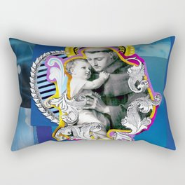 Santo Antônio (Anthony of Padua) Rectangular Pillow