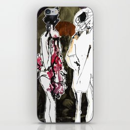 The Face iPhone Skin