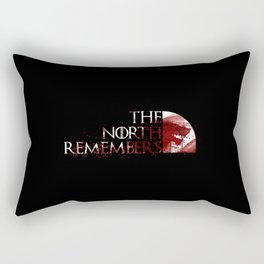 The north remembers Rectangular Pillow