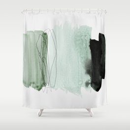 minimalism 4-1 Shower Curtain