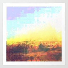Observation Hill, Duluth MN Art Print