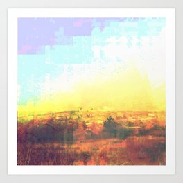 Observation Hill, Duluth MN Art Print