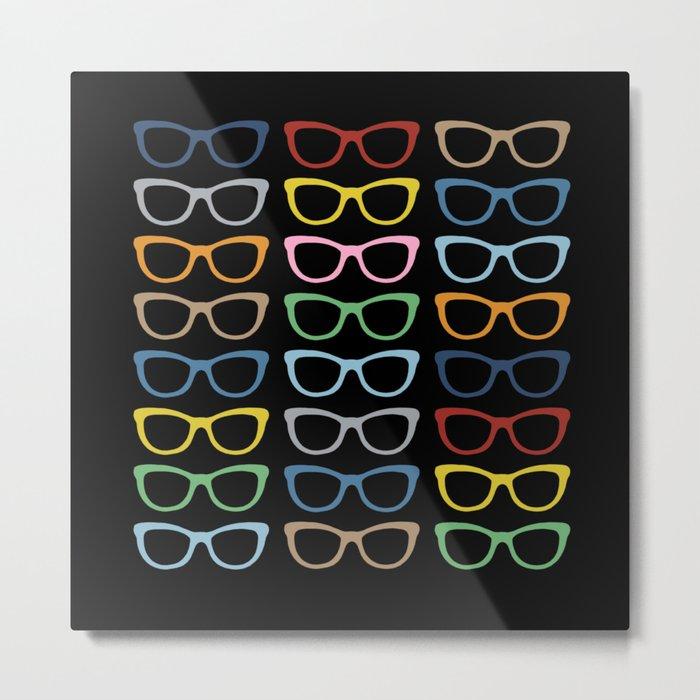 Sunglasses at Night Metal Print