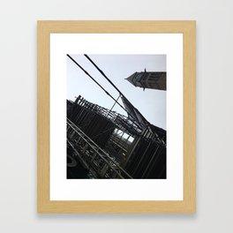 Downtown Montréal Framed Art Print