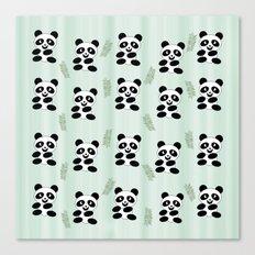Panda pattern Canvas Print