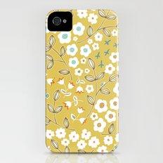 Ditsy Mustard iPhone (4, 4s) Slim Case