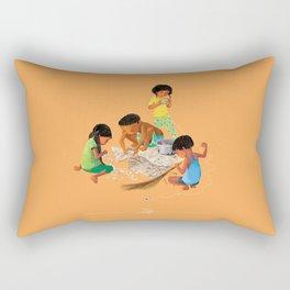 Our handmade kite Rectangular Pillow