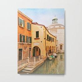 A Venetian View - Sotoportego de le Colonete - Italy Metal Print