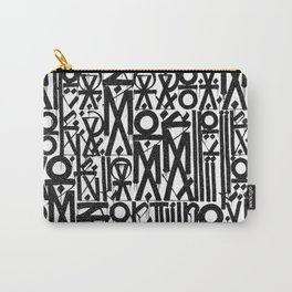 TYPO--ART Carry-All Pouch