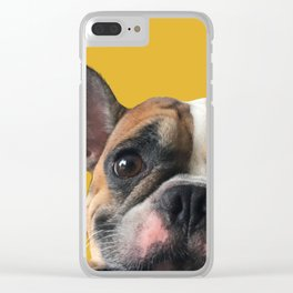 Who's there? Clear iPhone Case