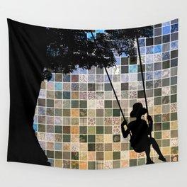 Tree Swing Wall Tapestry