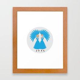 White Christmas #2 Framed Art Print