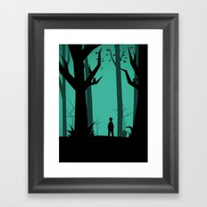 Lost In The Woods Framed Art Print