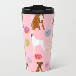 Boxer donuts cute gifts for pure breed dog lover Boxers dog owners Travel Mug