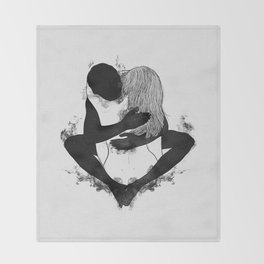 Passionate love. Throw Blanket