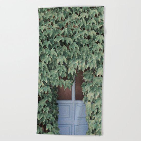 Hidden doors Beach Towel