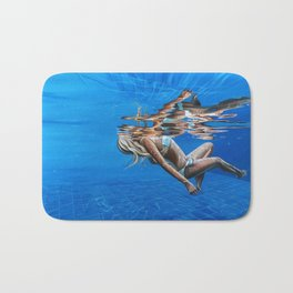 Weightlessness Bath Mat