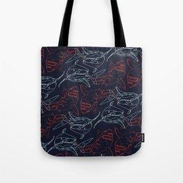Shark Pattern Tote Bag