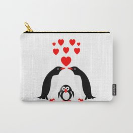 Penguins family Carry-All Pouch
