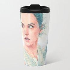 Rey watercolor Travel Mug