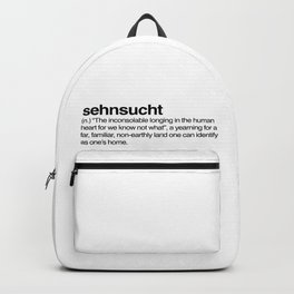 sehnsucht Backpack