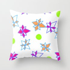 Festive Cracker Jacks Throw Pillow