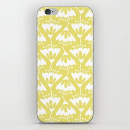 Yellow and White Flowers iPhone Skin