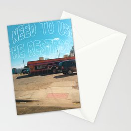 Odesert III (w/ text) Stationery Cards
