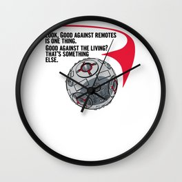 Good against a Living Wall Clock