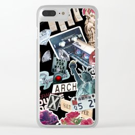 TRIP COLLAGE Clear iPhone Case
