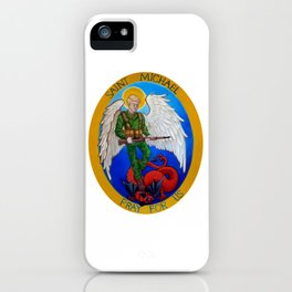 Saint Michael iPhone Case