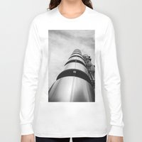 building Long Sleeve T-shirts featuring Lloyds building by Solar Designs