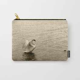 Schwan im Traunsee Carry-All Pouch