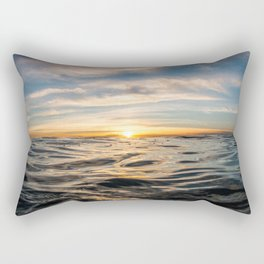 The Rise of Happiness Rectangular Pillow