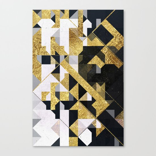 gold lyyfd Canvas Print