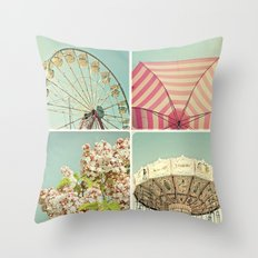 Summer Memories 2 Throw Pillow