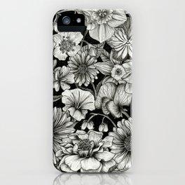 Birth Flower Bundle iPhone Case