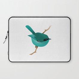 Little Blue Bird Laptop Sleeve